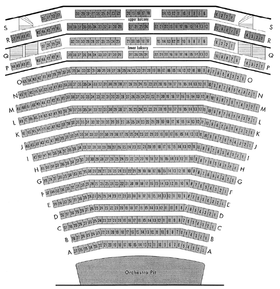 Children's Theatre Company Seating Chart