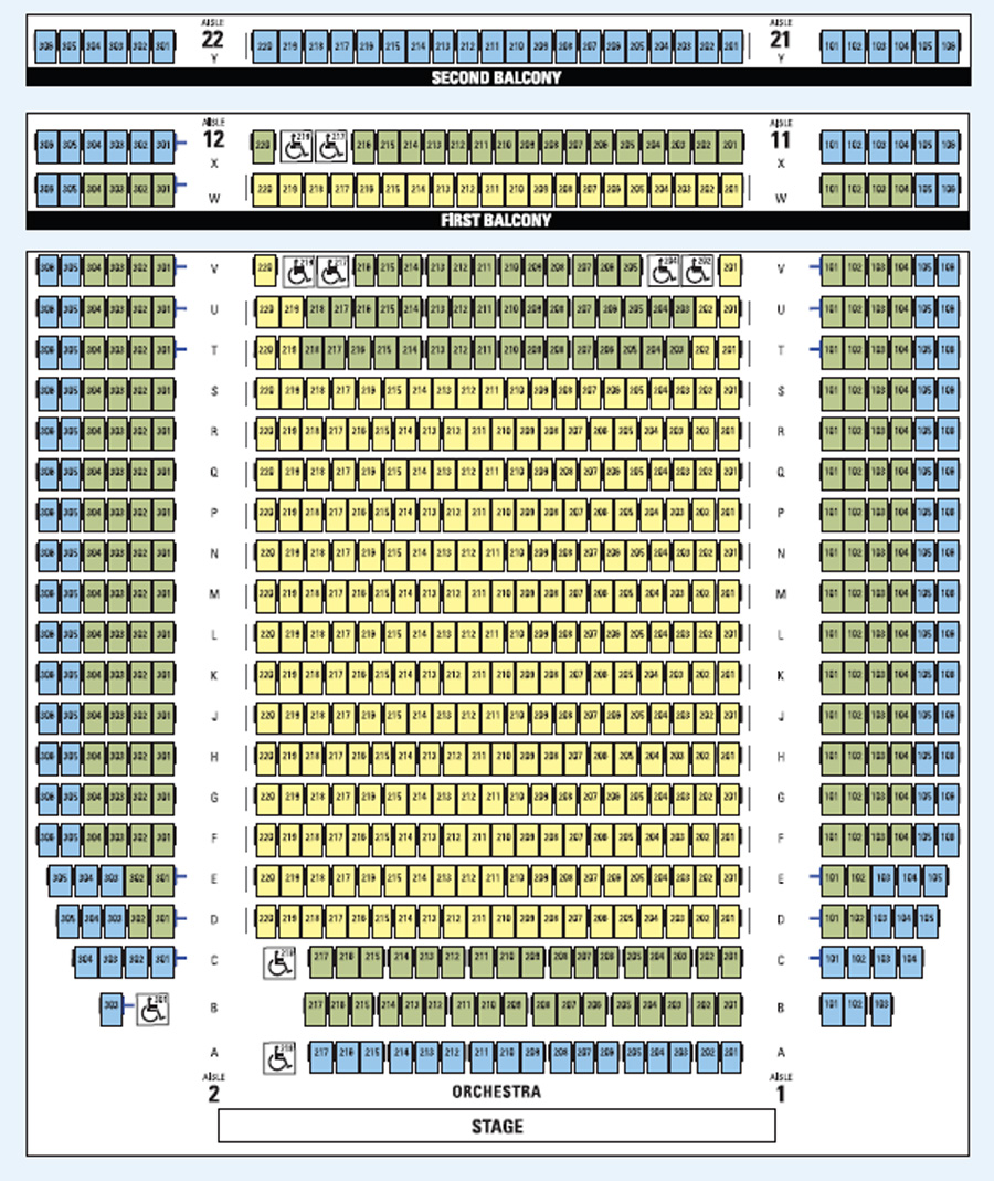 Guthrie Seating Chart Mcguire Proscenium Stage